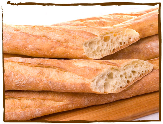 ... know that the french love their baguettes you see them everywhere if