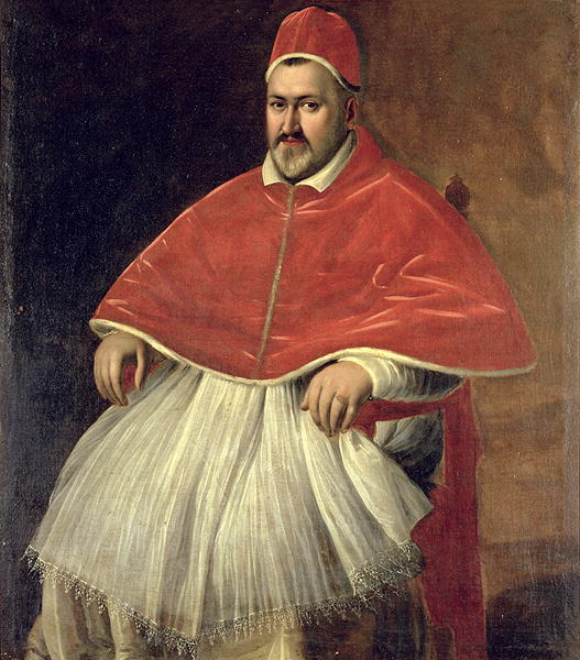 Pope Paul V, by Caravaggio, public domain