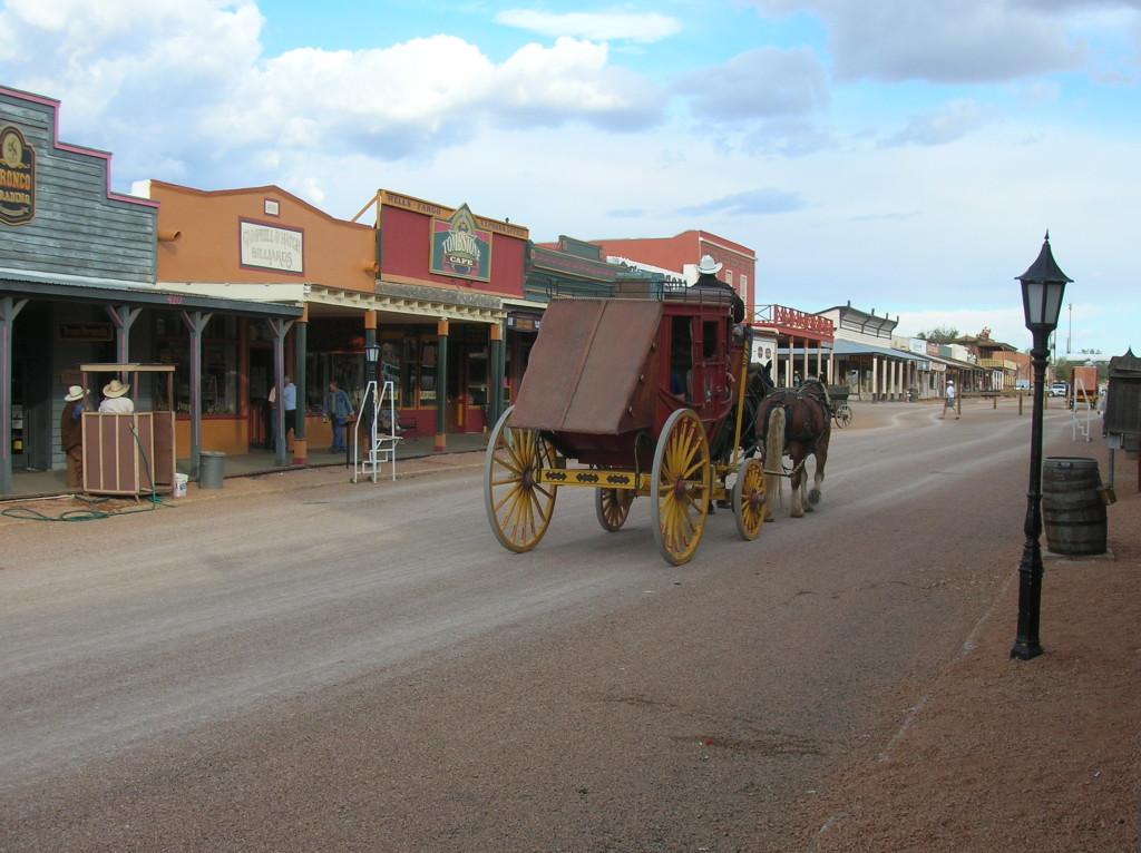 http://en.wikipedia.org/wiki/Tombstone,_Arizona#/media/File:Allen_Street_Tombstone.jpg
