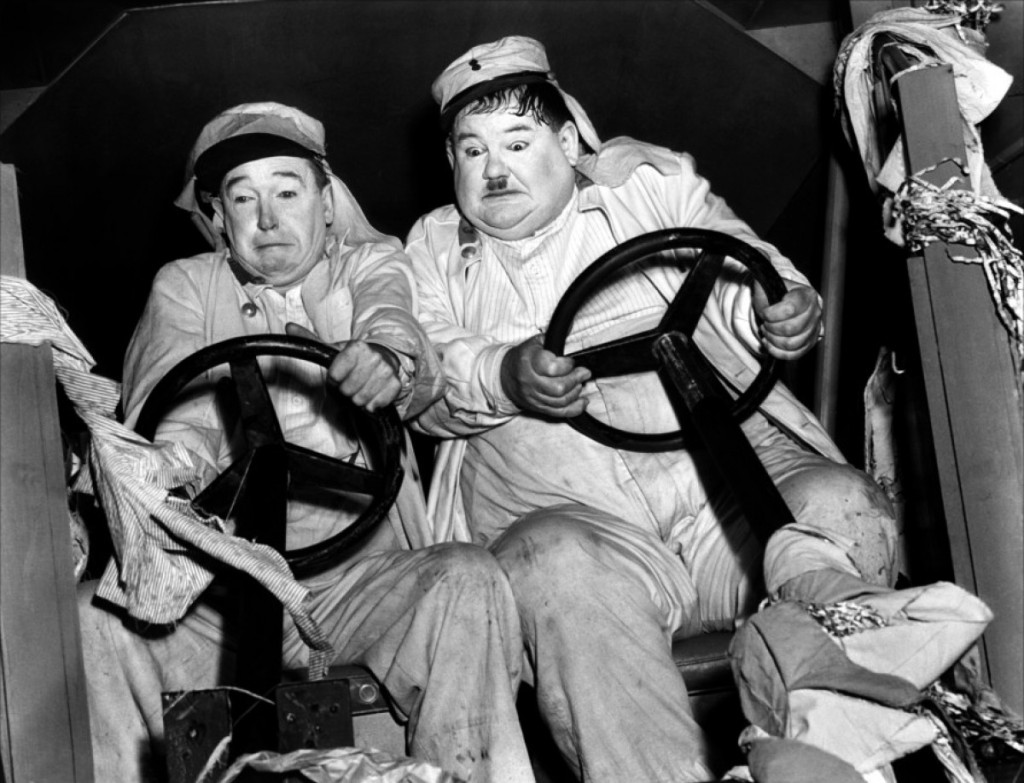 http://en.wikipedia.org/wiki/Laurel_and_Hardy#/media/File:The_Flying_Deuces_(1939)_1.jpg