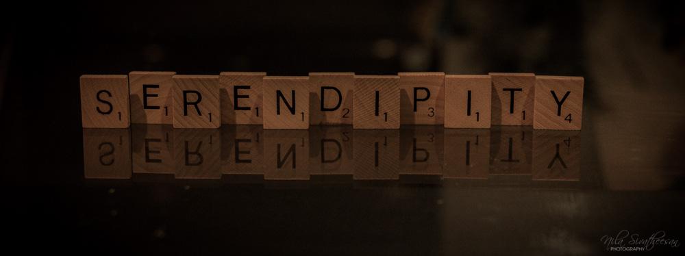 Serendipity by Nila Sivatheesan, April 7, 2014 via Flickr, Creative Commons Attribution.