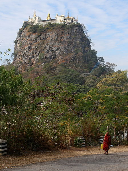By Ed Brambley (originally posted to Flickr as Mt Popa) [CC BY-SA 2.0 (http://creativecommons.org/licenses/by-sa/2.0)], via Wikimedia Commons