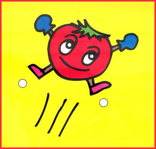 "Way to go tomatoes!  ""Jumping tomato"" by Gabi Greve /CC BY"