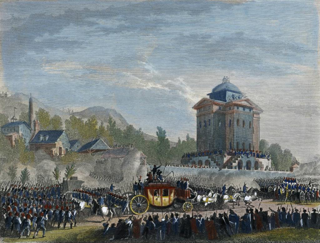 By Jean Duplessis-Bertaux (1750-1818), d'après un dessin de Jean-Louis Prieur. Reproduction par P. G. Berthault dans les Tableaux historiques de la Révolution française. ([1]) [Public domain], via Wikimedia Commons