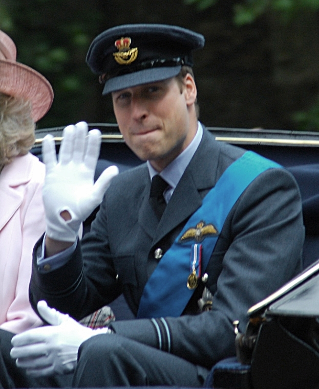 "'Oh yeah, I got this in the bag!""  By Robert Payne (Prince William) [CC BY 2.0 (http://creativecommons.org/licenses/by/2.0)], via Wikimedia Commons"